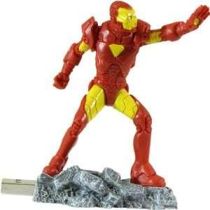 Marvel Iron Man 4GB USB 2.0 Flash Drive Electronics