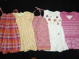 TODDLER GIRL size 4T 4 5 XS SUMMER OUTFIT CLOTHES LOT GIRLS