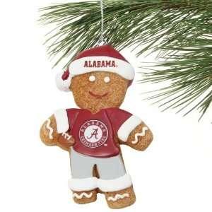 Alabama Crimson Tide Gingerbread Man Person Resin