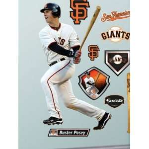 Wallpaper Fathead Fathead MLB Players & Logos Buster Posey