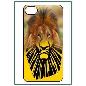 Lion King iPhone 4 iPhone4 Black Designer Hard Case Cover