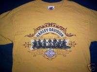 2004 HARLEY DAVIDSON T SHIRT HERITAGE HD CONCORD NH TEE