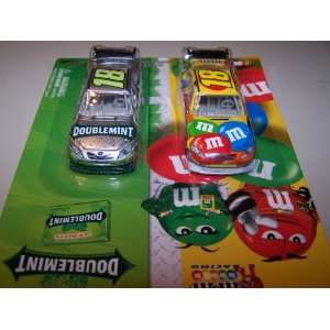 2010 Action Racing Collectables Kyle Busch #18 M&M