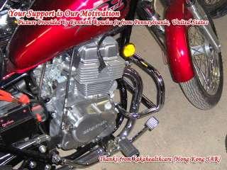 Honda Rebel CMX250 Engine Guard Crash Bar (1986 2008)