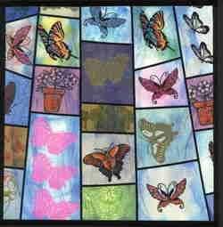 Beautiful BUTTERFLIES set 9   UNMounted rubber stamps