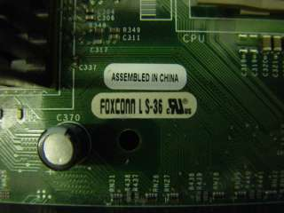 Foxconn Dell Motherboard LS 36 w/ 2.66GHz CPU 512MB RAM