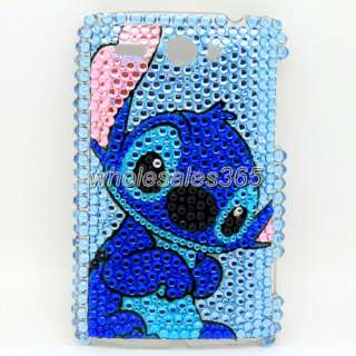 New Bling Rhinestone Diamond Crystal Hard Case Cover Skin For HTC