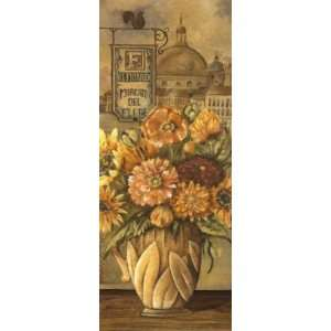 Charlene Audrey   Bouquet From Italy Canvas