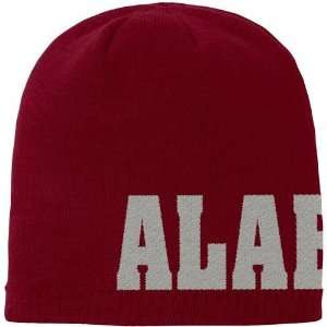 Nike Alabama Crimson Tide Big Logo Crimson Knit Beanie Cap