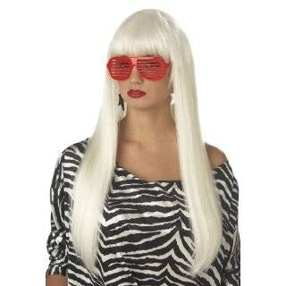 Franco Long White Anime Vampire Emo Storm Costume Wig
