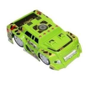 Air Hogs Zero Gravity Micro Car   Green SUV Ch A Toys & Games