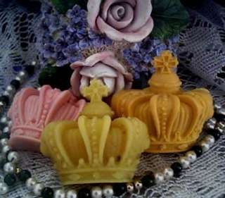 Silicone Crown Soap Candle Mold