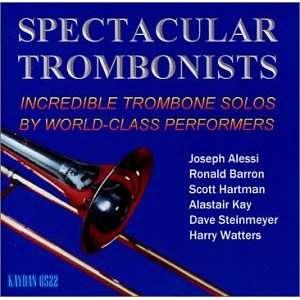Spectacular Trombonists Various Artists Music