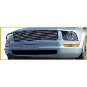 New Ford Mustang Billet Grille   Polished, V6, Overlay 05