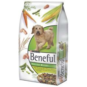 Beneful Healthy Weight Dog Food 5/7 Lb. Case by Nestle