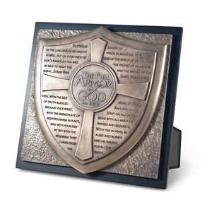 Full Armor of God Moments of Faith Inspirational Plaque