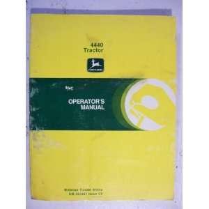 John Deere 4440 Tractor Operator Manual   OM R65461