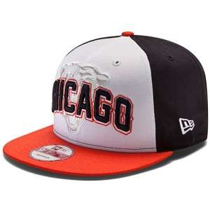 CHICAGO BEARS NFL NEW ERA 9FIFTY DRAFT DAY STRUCTURED SNAPBACK HAT CAP