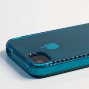 Transparent TPU Case / Cover / Skin / Shell for Apple iPhone 4 + Free