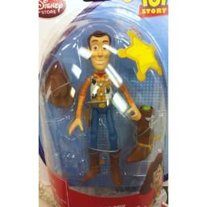 Disney Toy Story Woody 6 Pvc Doll Moveable Poseable