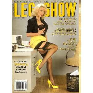 LEG SHOW MAGAZINE FEBRUARY 1993: LEG SHOW: Books