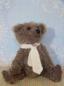 Mohair Teddy Bear for sale, one of a kind, 10,artist handmade,glass