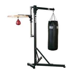 Everlast Heavy Bag Stand and Speed Bag Platform  Sports