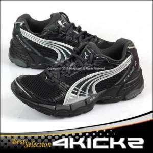 Puma Cell Exsis 2 Black Dark Mens Running Sport Shoes