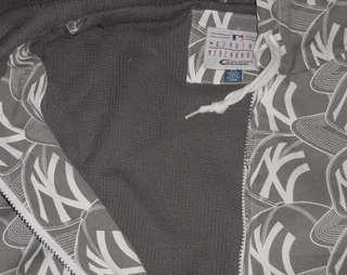 New York Yankees Urban Hoodie Jacket Large Full Zip MLB