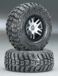 Traxxas Slayer 4x4 Mounted Kumho Tires/Beadlock Wheels TRA5976R