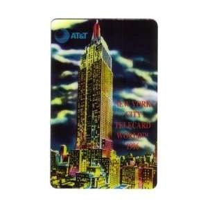 Collectible Phone Card 5m Empire State Bldg. TeleCard