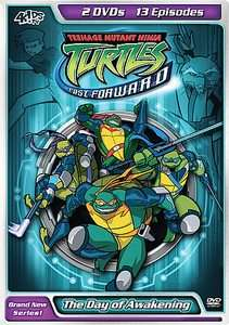 Teenage Mutant Ninja Turtles Fast Forward   Vol. 2 DVD, 2 Disc Set