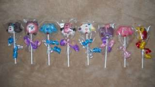Chocolate LARGE 3x4 # Blues Clues Dog Paw Prints Paws Favors Lollipops