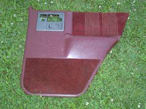 83 94 ? 92 Chevy S10 Blazer RH Passe Rear Door Panel