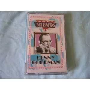 BENNY GOODMAN Legendary Big Band Series cassette NEW Benny Goodman