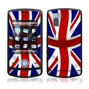 UK Flag Decorative Skin Cover Decal Sticker for LG Shine CU720 Cell