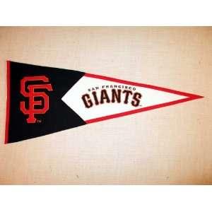 San Francisco Giants MLB Classic Baseball Pennant