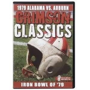 NCAA Alabama Crimson Tide 1979 Iron Bowl Championship