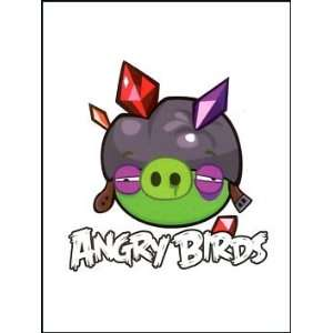 Angry Birds Pig 4 Temporaray Tattoo: Toys & Games