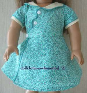 DOLL CLOTHES Fits American Girl KIT Birthday Dress Set