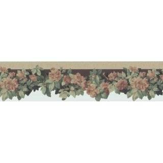 Norwall Grape Vine Die Cut Wallpaper Border Pattern Number