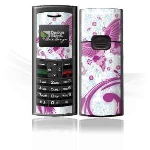 Skins for Sagem my 100X   Pink Butterfly Design Folie Electronics