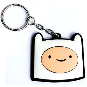 FINN THE HUMAN Adventure Time Keychain (Cartoon Network)   Key Chain