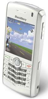 NEW Blackberry PEARL 8100 WHITE Unlocked GSM Sim Card  Camera Phone