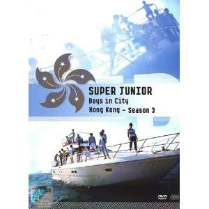 Super Junior Boys In City Season 3   Hong Kong (2DVD Set