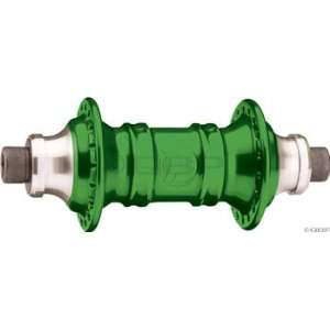 Profile Racing Mini front hub 36h Green