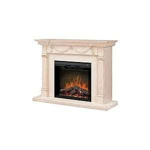 Dimplex Encore Draped Electric Fireplace   Alabaster: Home