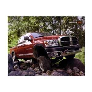 2008 DODGE RAM PICKUP TRUCK Sales Brochure Book