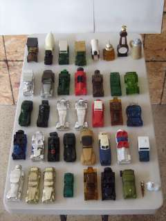 VINTAGE AVON CAR BOTTLES   TOTAL LOT OF 40
