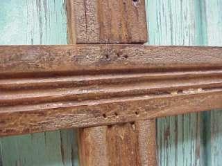 Old Door Wood Cross #10 Mexican Folk Art Crosses Wall Decor Handmade